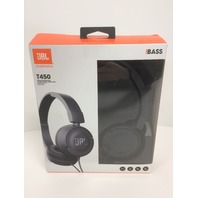 Jbl T450 On-Ear Black Headphones