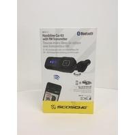Scosche BTFreq FM Transmitter Handsfree Car Kit - Black