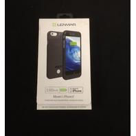 Lenmar iPhone 6, 6S Battery Case Portable Charger Case, BLACK