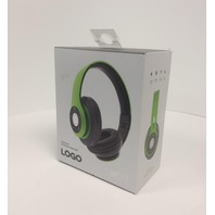 iJoy Premium Rechargeable Wireless Headphones Bluetooth  (SRG-Lime)