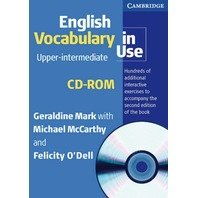 English Vocabulary in Use. Upper-intermediate. Book and CD-ROM