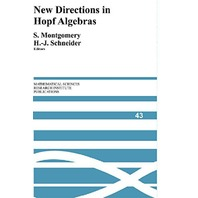 New Directions in Hopf Algebras (Mathematical Sciences Research Institute Pub.)