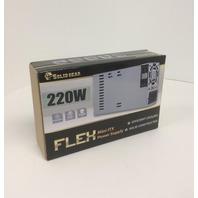 Solid Gear Mini ITX 220-Watts Power Supply SDGR-FLEX220