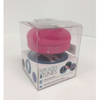 Splash Tunes Shower Speaker – Waterproof Bluetooth Hands-Free (Pink)