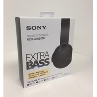 Sony Mdr-xb950n1 Noise Canceling Bluetooth 4.1 Headphone Black 2017 Sealed
