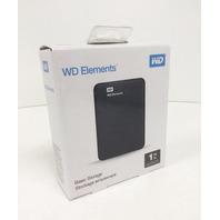 1 TB WD Elements USB 3.0 High-capacity Portable Hard Drive