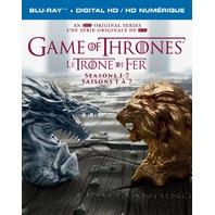 Game Of Thrones: Seasons 1 - 7 (Blu-Ray plus Digital HD) - Bilingual