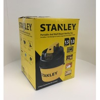 Stanley 1-Gallon 1.5 Peak Portable Poly Series  Wet Or Dry Vacuum Cleaner