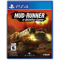 Maximum Games Spintires: Mudrunner [PS4] - SEALED