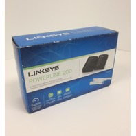 Linksys PLEK400 Powerline AV 1-Port Network Adapter Kit