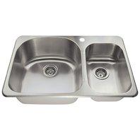 T3121L Topmount Offset Stainless Steel Kitchen Sink