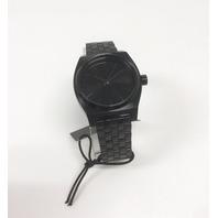 Nixon Women's medium Time Teller Quartz Metal And Stainless Steel Watch - black
