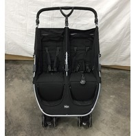 Britax B-Agile Double Stroller - Black NEW MISSING CANOPIES