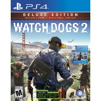 Watch Dogs 2 - Playstation 4 - Deluxe Edition - SEALED
