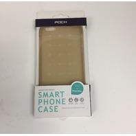 Rock Cubee TPU Cover Apple iPhone 6 Plus/6S Plus Transparent Gold