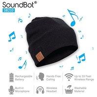 Soundbot Sb210 Hd Stereo Bluetooth 4.1 Wireless Smart Beanie Headset Musical Hat