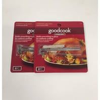 Goodcook Turkey Time - 2 Pack (8 Pieces Each) Turkey Lacers with string