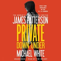 Private Down Under Audio CD by James Patterson - SEALED