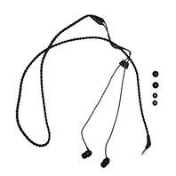 Wraps Wrapscblk-v15m Wristband Headphone, Fabric Black