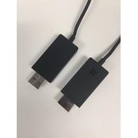 Microsoft 30cm Wireless Display Adapter - Black