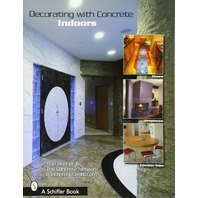 Decorating With Concrete Indoors: Fireplaces, Floors, Countertops