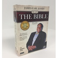 James Earl Jones Reads The Bible - 14 Cd Audiobook