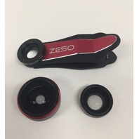 iPhone Lens 3 In 1 Camera Lens Kit By Zeso | Professional 230 Fisheye, Macro &