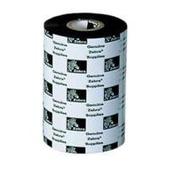 """Zebra 03200BK06045 3200 Wax/Resin Ribbon, 2.36"""" W x 1476' L, 1"""" Core - Pack of 6"""