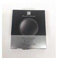 Platinum Series 58mm UV Lens Filter, PTMCUVF58, Clear