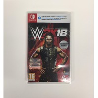 WWE 2k18 Nintendo Switch (UK Import) Game