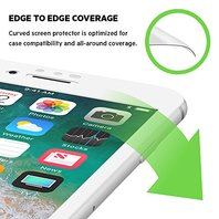 Belkin Screen Protector Curve Edge To Edge iPhone 7 Plus 8 Plus