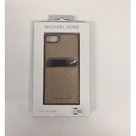 Michael Kors Snap On Phone Case Mk iPhone 8 , 7 Rose Gold B