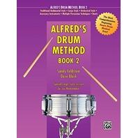 Alfred's Drum Method: Book & DVD 2 by Dave Black & Sandy Feldstein