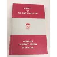 Annals of air and space law Vol vi