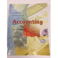 Accounting, Third Canadian Edition
