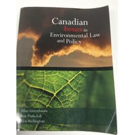 Canadian Issues in Environmental Law and Policy