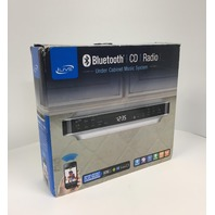 Ilive - Bluetooth Under Cabinet Music System - Silver
