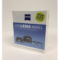 Zeiss Lens Cleaning Wipes 225 CT. -sealed