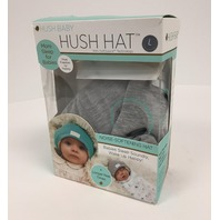 Hush Baby Hat Softsound Technology, Medical Grade Sound Absorbing Gray/Large