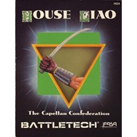 Battletech 1624 House Liao Capellan Confedation Source Book Fasa 1988 1st Ed??