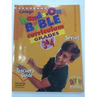 HANDS ON BIBLE CURRICULUM GRADES 3&4 1997