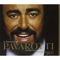 Portrait of Pavarotti