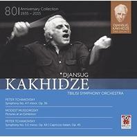Tchaikovsky / Tbilisi Symphony Orch / Kakhidze Legacy 2 CD