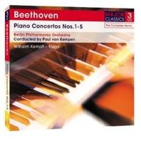 beethoven, Ludwig Va-piano Concertos 15 Wilhelm Kempff (uk Import) Cd