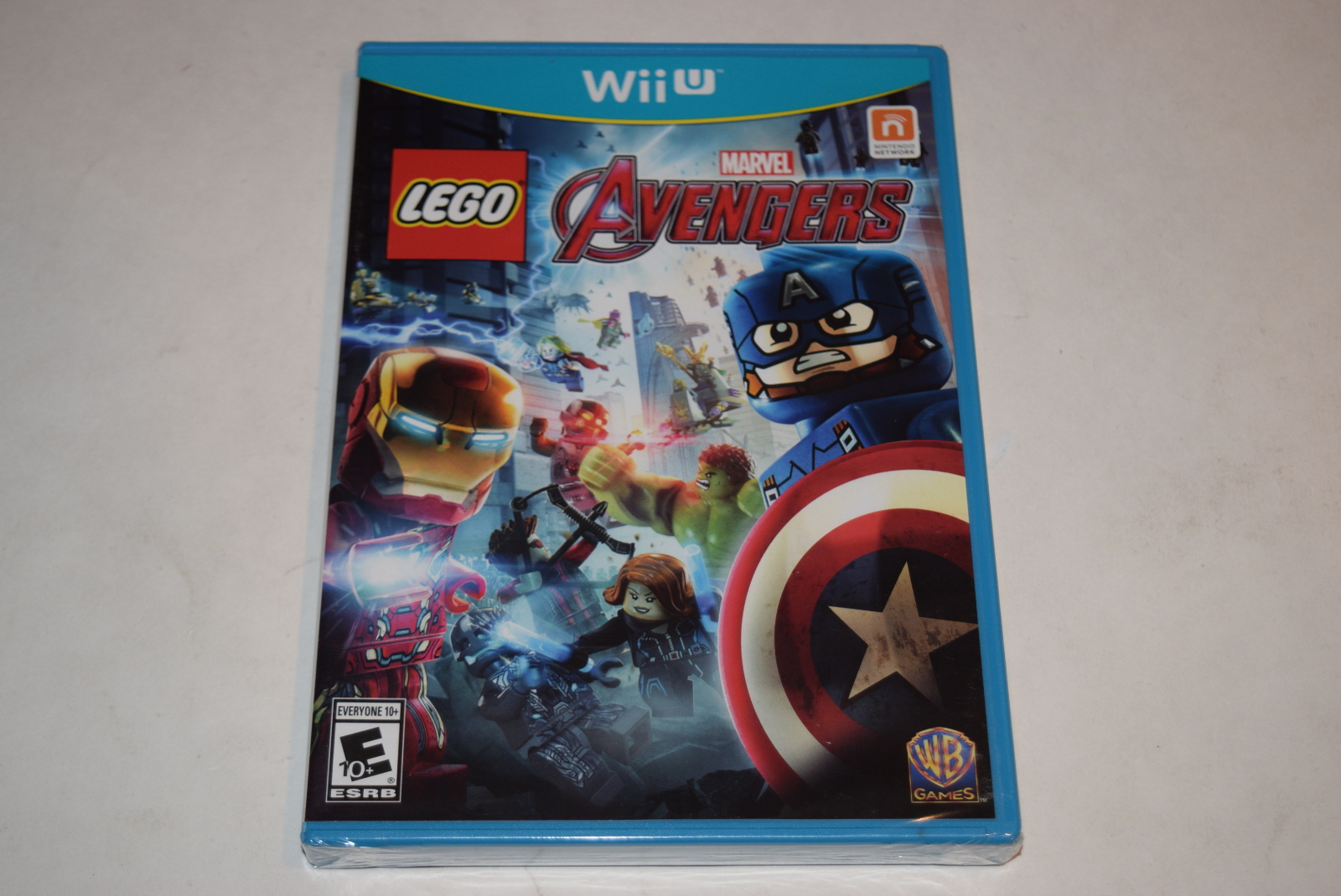 lego marvel u0026 39 s avengers nintendo wii u video game new sealed 883929474066