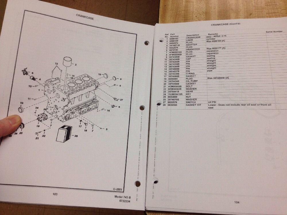 bobcat 743b parts manual book skid steer loader 6722234 finney Bobcat 743 Parts Diagram bobcat 743b parts manual book skid steer loader 6722234 bobcat 743 parts diagram