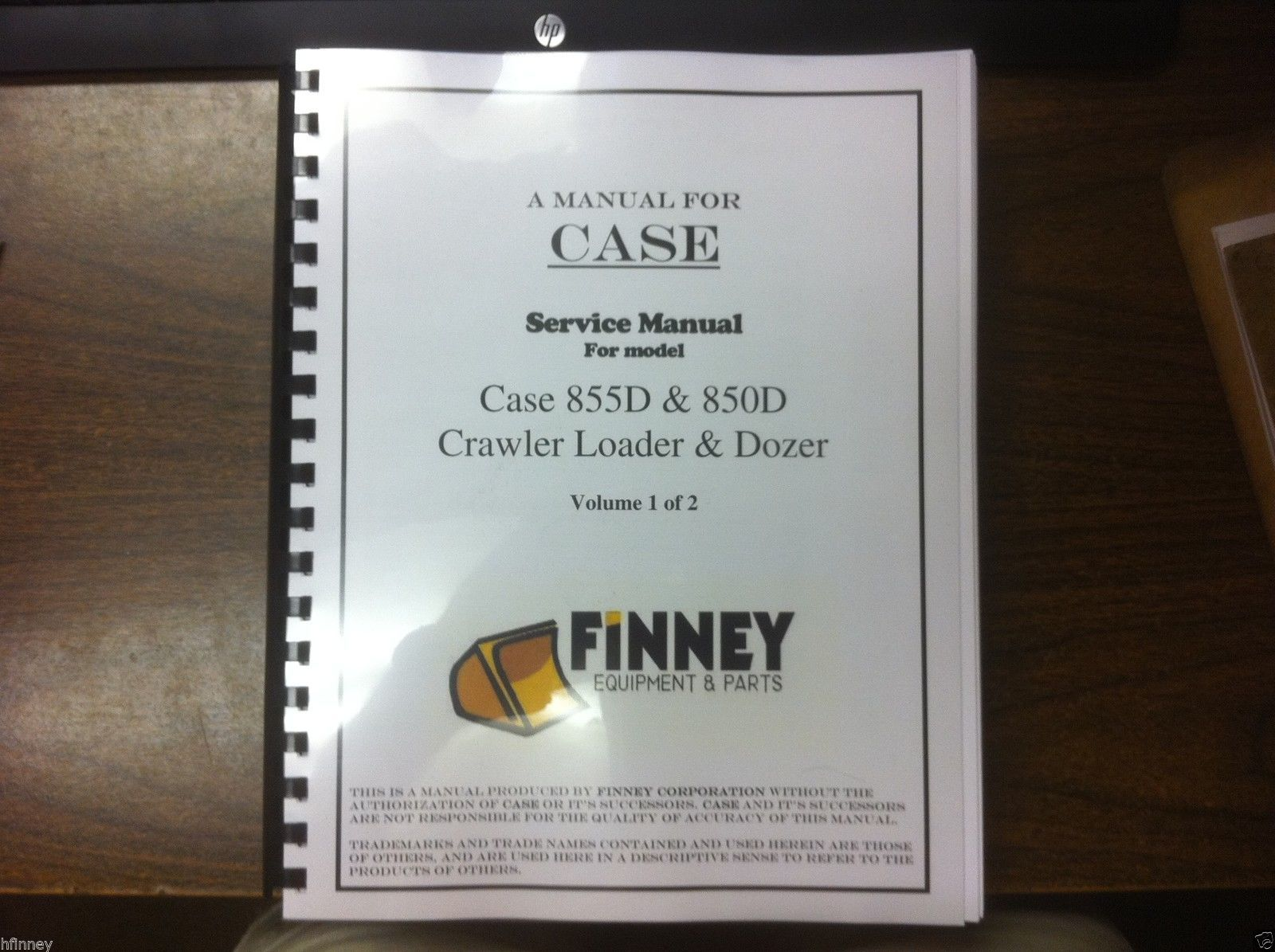 case 850d 855d loader dozer crawler service shop manual 2 volume 8 rh finneyparts us case 850g dozer service manual Case 850D Dozer Specs