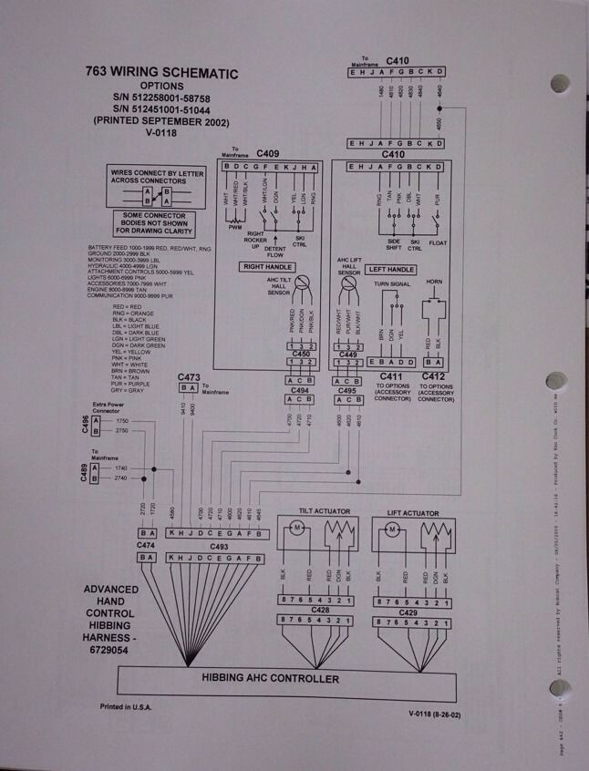 bobcat 763 wiring schematic   27 wiring diagram images