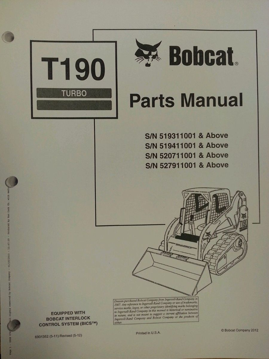 bobcat t190 wiring diagram bobcat t190 fuse panel location
