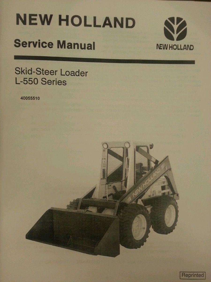 ford 555 backhoe serial numbers new holland l550 l553 l554 l555 l565 skid steer loader service manual book ford